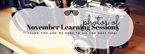 November Learning Sessions Photo