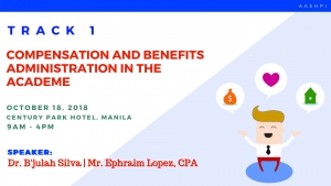TRACK 1: Compensation and Benefits Administration in the Academe