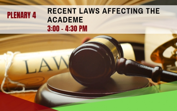 PLENARY 4: Recent Laws Affecting the Academe