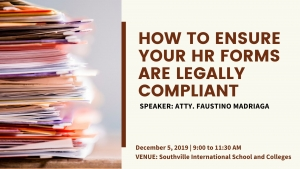 TRACK 1: How to Ensure Your HR Forms are Legally Compliant