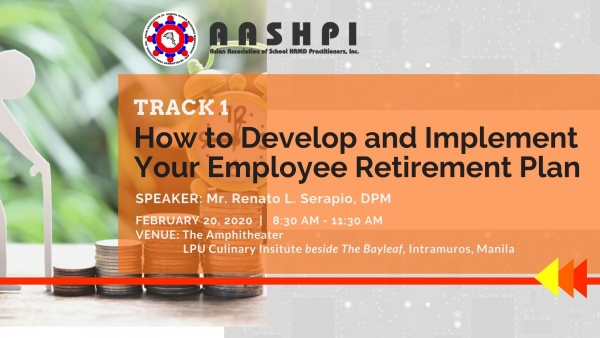 Track 1: How to Develop and Implement Your Employee Retirement Plan