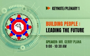 PLENARY 1: Building People: Leading the Future