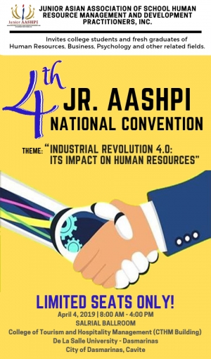 4TH JUNIOR AASHPI NATIONAL CONVENTION