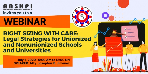 WEBINAR : Right Sizing with Care: Legal Strategies for Unionized and Nonunionized Schools and Universities