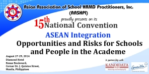 AASHPI 15th National Convention