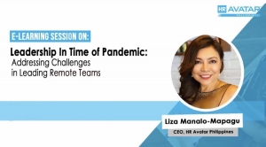 WEBINAR: Leadership In Time of Pandemic: Addressing Challenges in Leading Remote Teams