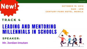TRACK 4: LEADING AND MENTORING MILLENNIALS IN SCHOOLS